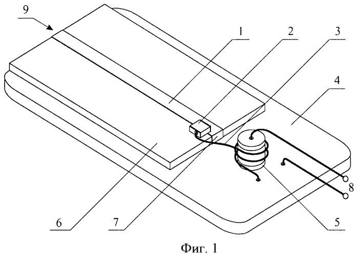 Микрополосковый p-i-n-диодный свч-выключатель