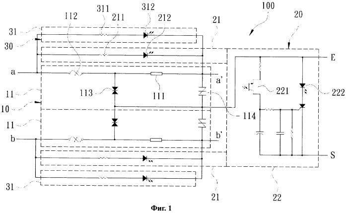 Устройство защиты с двойной сигнализацией и несколькими защитными функциями