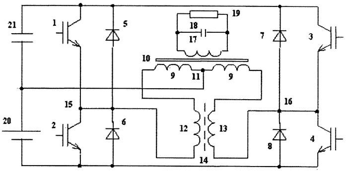 Двухтактный инвертор с синусоидальным выходным напряжением