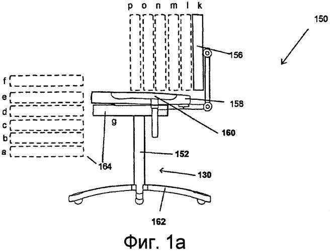 Настраиваемое кресло с возможностью принятия множества положений тела и способы его использования