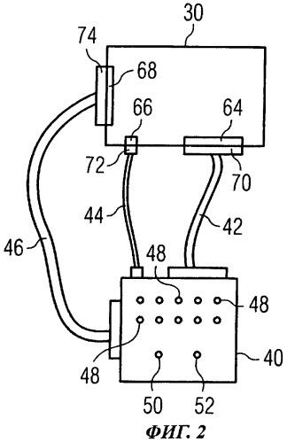 Испытательное устройство и способ тестирования устройства управления системой подачи кислорода в воздушном судне