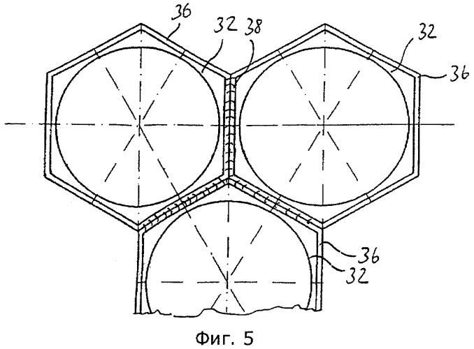 Нагревательная камера выпарного аппарата-кристаллизатора