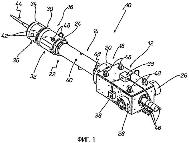 Литьевая головка для гофратора для изготовления пластмассовых труб