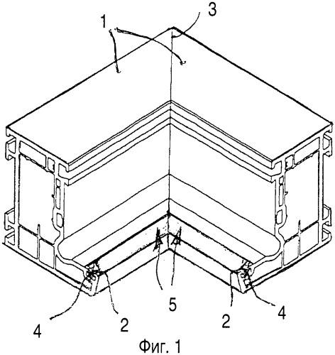 Способ сварки обрезанных наискось рамных профилей для окон, дверей и т.п., а также уплотнительная лента, применяемая в таких рамных профилях