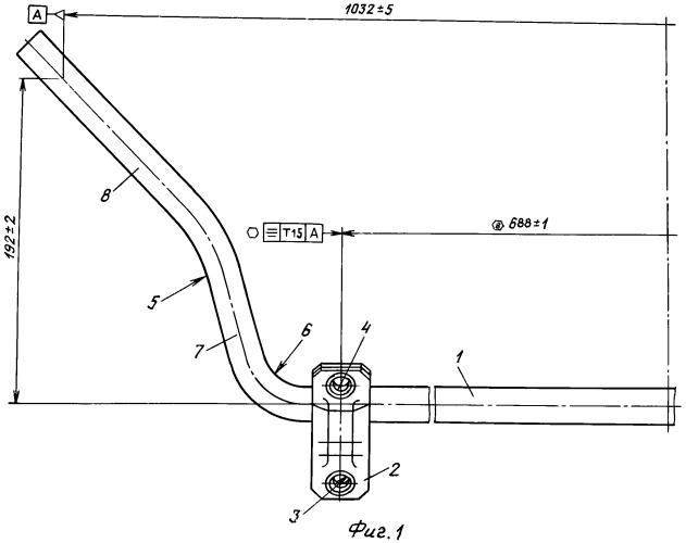 Способ изготовления стабилизатора поперечной устойчивости легкового автомобиля