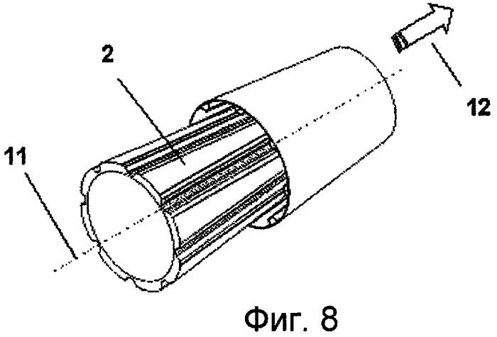 Конструкция из композиционного материала для фюзеляжа летательного аппарата и способ ее изготовления