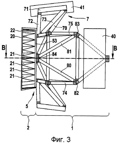 Конструкция хвостовой части воздушного или космического судна