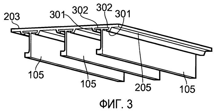Сборная панель обшивки крыла и способ изготовления сборной панели
