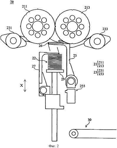 Складывающая и стопоукладывающая машина для складывания и укладывания изделия из рулонного материала и способ ее использования