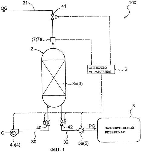 Устройство для концентрирования горючего газа и способ концентрирования горючего газа