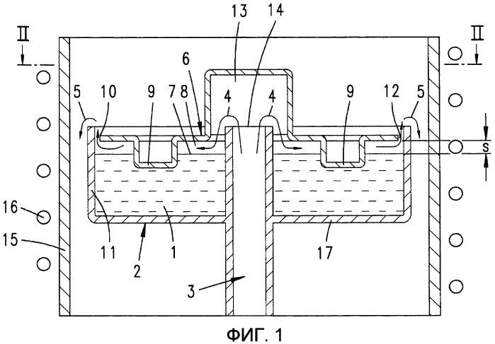 Резервуар источника для vpe-реактора
