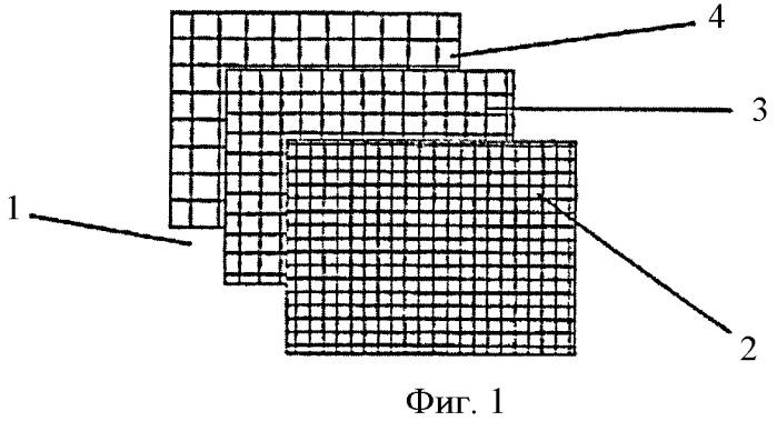 Способ изготовления волокнистого слоя, содержащего элемент заданной толщины, формующая сетка для его изготовления, способ изготовления такой сетки и защищенный лист с таким слоем