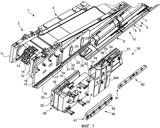 Приводная станция для подземной струговой установки, а также способ проведения ремонта добычных стругов