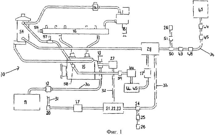 Сдвоенная топливная система и содержащий ее дизельный двигатель
