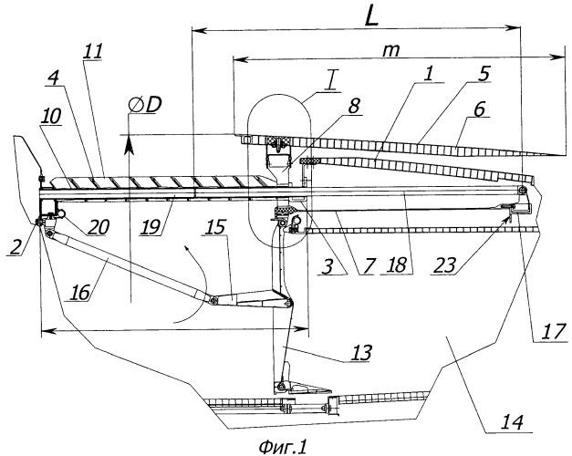 Реверсивное устройство газотурбинного двигателя