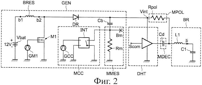 Cпоcоб измерения ионного тока свечи зажигания с резонансной структурой и соответствующее устройство