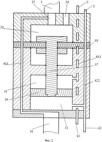 Глубинное гидроприводное насосное устройство
