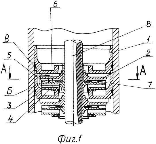 Ступень погружного центробежного насоса