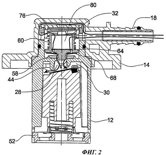 Топливный продувочный клапан и топливный бак, снабженный этим клапаном