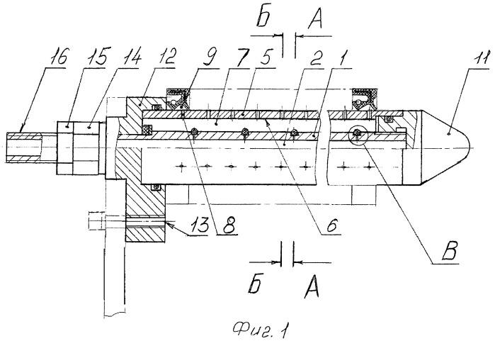 Оправка для заполнения консистентной смазкой кольцевых внутренних полостей деталей