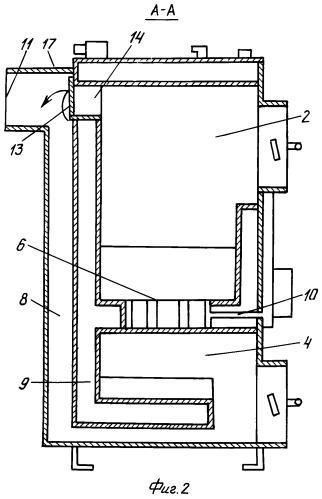 Газогенераторное отопительное устройство