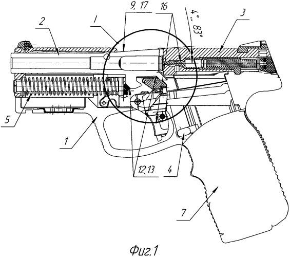 Пистолет под патрон
