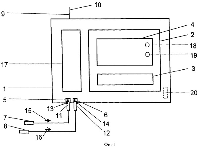 Устройство для передачи измеренных величин