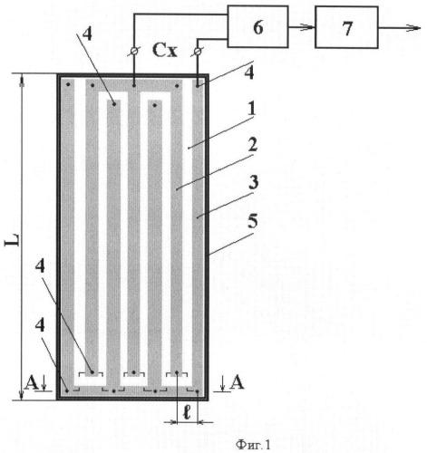 Устройство для измерения положения границы раздела фаз в расслоенном водонефтяном потоке