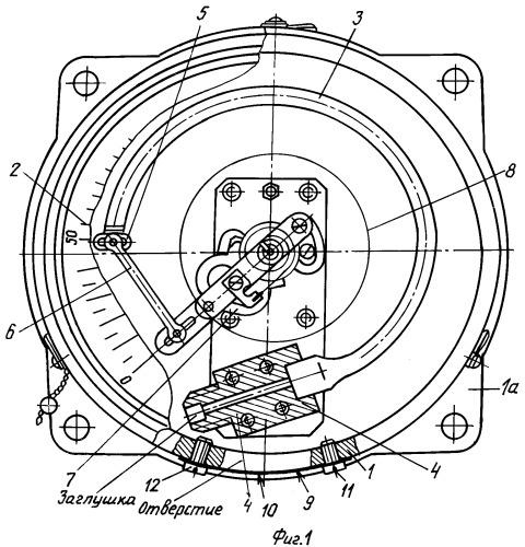 Манометр показывающий корабельный мкр-160в