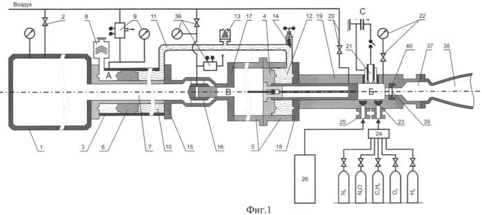 Импульсная аэродинамическая труба