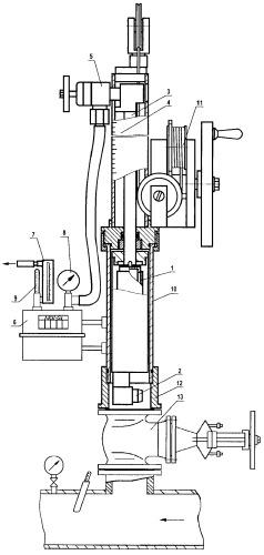Устройство для измерения концентрации капельной жидкости в потоке газа