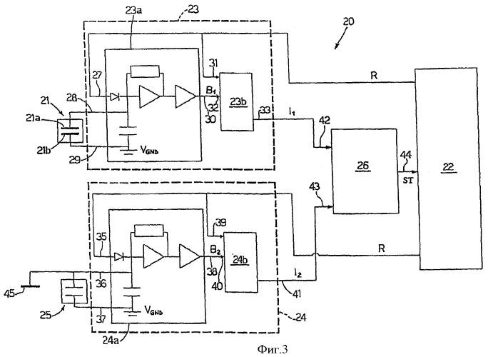 Способ и устройство для измерения емкости емкостного компонента