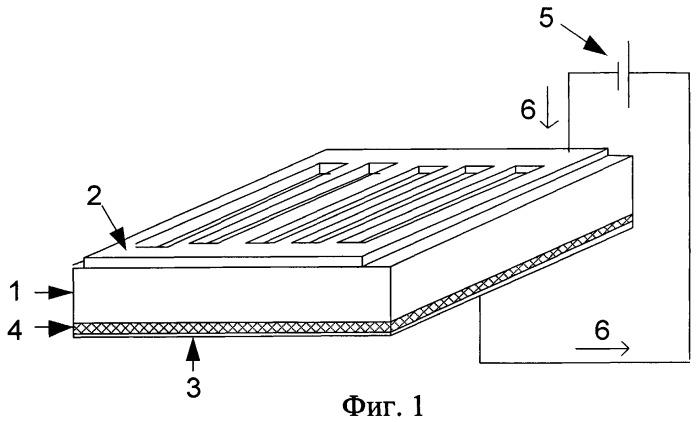 Способ формирования доменной структуры в монокристаллической пластине нелинейно-оптического сегнетоэлектрика