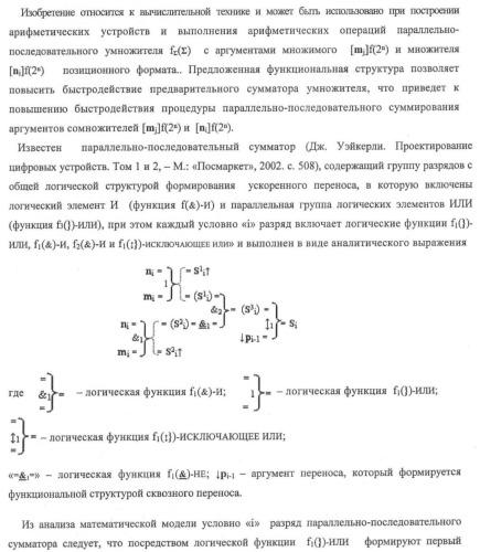 """Функциональная структура предварительного сумматора f ([ni]&[ni,0]) условно """"i"""" и """"i+1"""" разрядов """"k"""" группы параллельно-последовательного умножителя f ( ) для позиционных аргументов множимого [ni]f(2n) с применением арифметических аксиом троичной системы счисления f(+1,0,-1) (варианты русской логики)"""