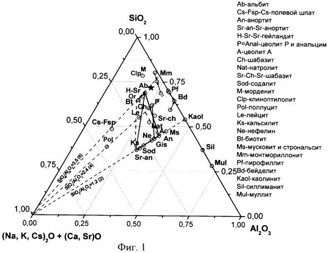 Способ иммобилизации радиоактивных отходов в минералоподобной матрице