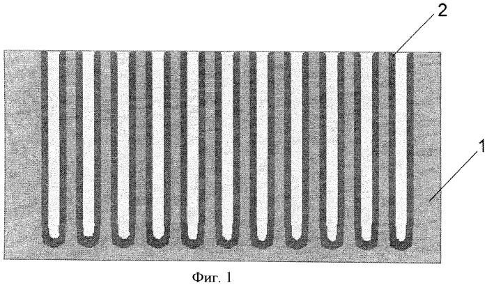 Нанокомпозитная газопоглощающая структура