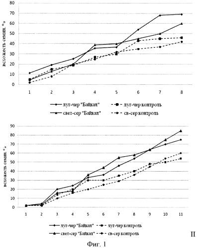 Способ увеличения семенной продуктивности и всхожести семян hedysarum alpinum l.