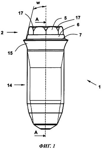 Зубной имплантат с внутренним конусом