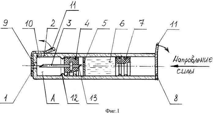 Одноразовый шприц-картридж с подвижной иглой (варианты)