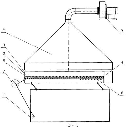 Пневматический сортировальный стол