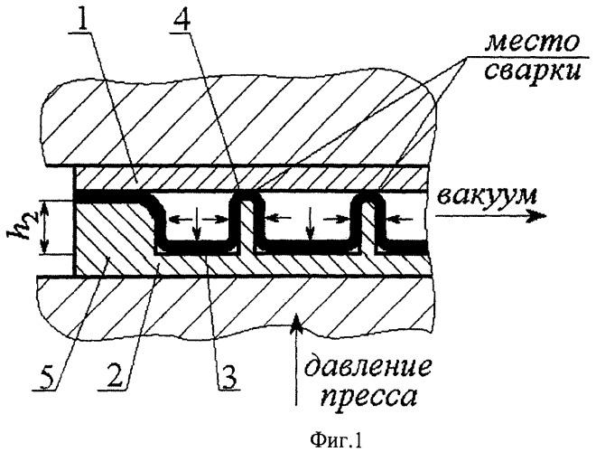 Многослойная ячеистая конструкция и способ ее изготовления