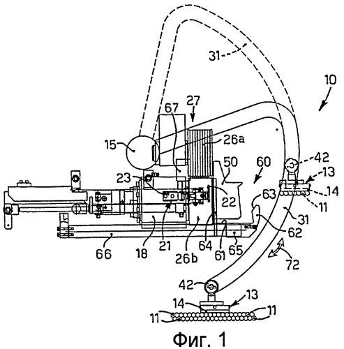 Способ подачи прутков к станку и соответствующее устройство