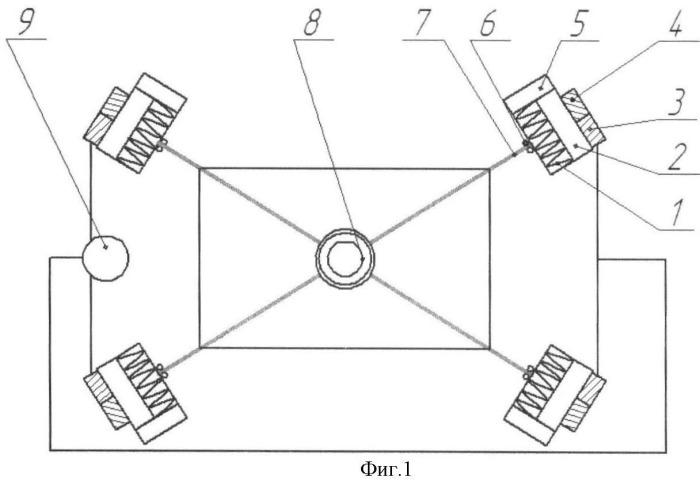 Вибрационная заглаживающая машина с гибкой подвеской рабочего органа