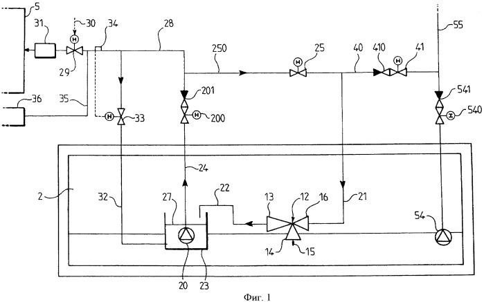 Устройство для подачи топлива в энергетическую установку судна