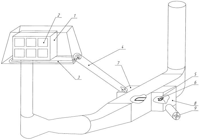 Воздухоочистительное устройство для газотурбинной установки