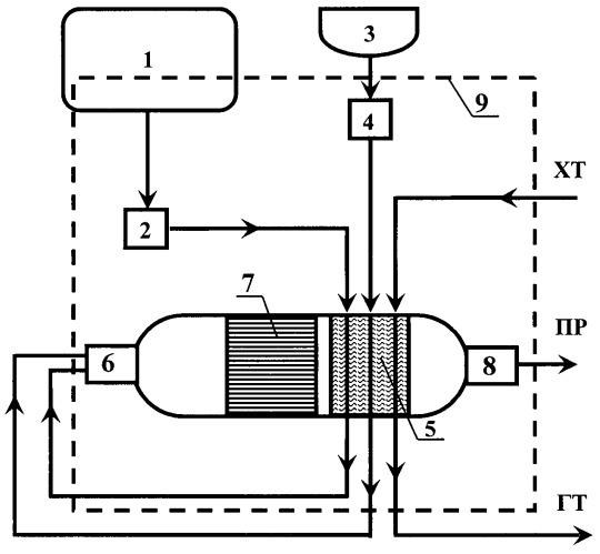 Устройство предпускового подогрева двигателя, автономного отопления, генерации водородсодержащего газа и способ работы устройства