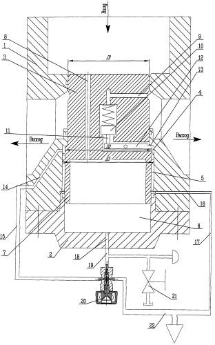 Пневматический клапан с пилотным электромагнитным клапаном