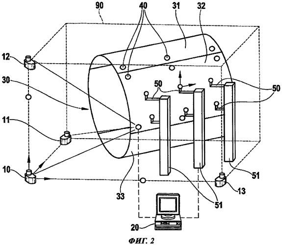 Способ и устройство для обеспечения пространственной стабильности многоэлементных конструкций при сборке