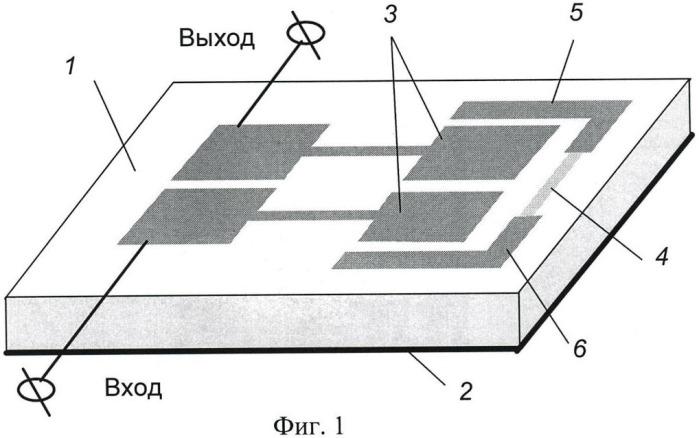 Микрополосковое защитное устройство