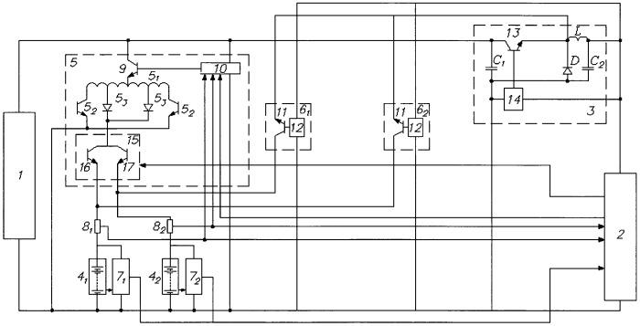 Автономная система электропитания искусственного спутника земли